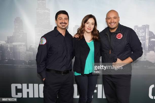 EVENTS 'One Chicago Day' Pictured Yuri Sardarov 'Chicago Fire' Marina Squerciati 'Chicago PD' Joe Minoso 'Chicago Fire' at the 'One Chicago Day'...