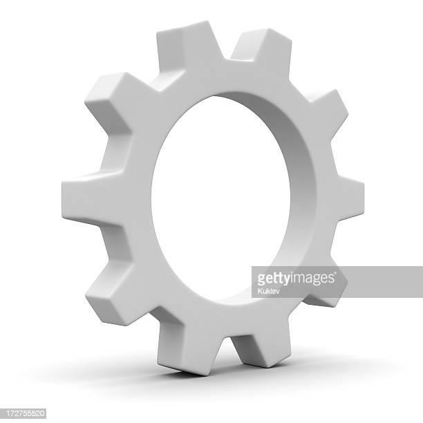 Une roue dentée