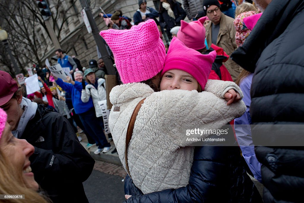 Women's March in Washington D.C. : Photo d'actualité
