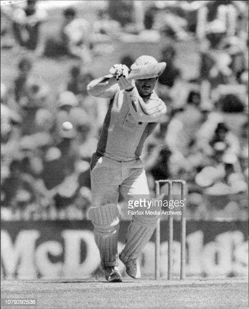 One day cricket test SCG New Zealand versus AustraliaBorder hits Coney for 1 January 21 1981