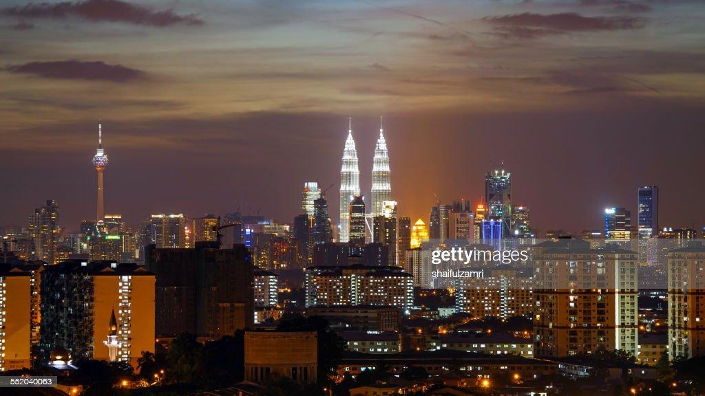 One day gone at Kuala Lumpur : Stock Photo