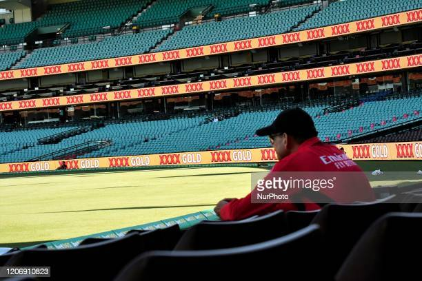One Day International series between Australia and New Zealand at Sydney Cricket Ground on March 13, 2020 in Sydney, Australia.