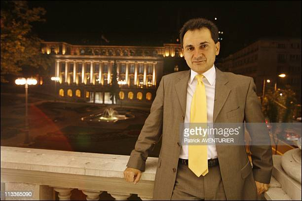One Day With The Serbian Vice Prime Minister Bozidar Djelic In Belgrade Serbia On September 25 2007 Born in Tito's Yugoslavia arrived in France when...