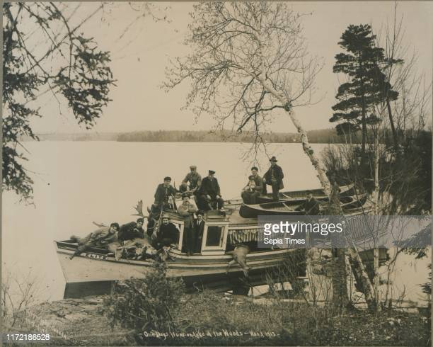 One day's hunt on Lake of the Woods Nov 3 1913