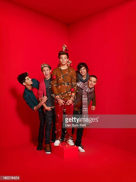 One Direction are photographed for Parade magazine on November 1 2012 in London England