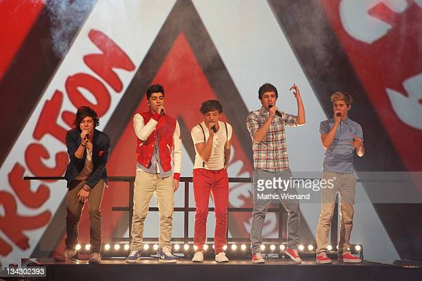 One Direction attends The Dome 60 on November 30 2011 in Duisburg Germany