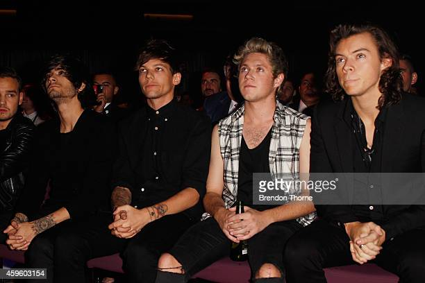 One Direction during the 28th Annual ARIA Awards 2014 at the Star on November 26 2014 in Sydney Australia