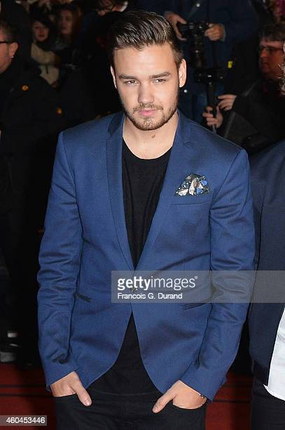 One Direction member Liam Payne arrives at the 16th NRJ Music Awards at Palais des Festivals on December 13 2014 in Cannes France
