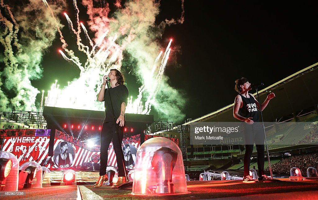 One Direction Kick Off 'On The Road Again' World Tour In Sydney : News Photo