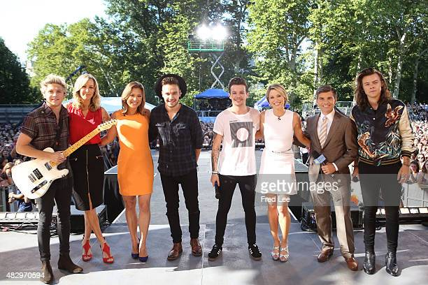 AMERICA One Direction performs live from Central Park as part of the Summer Concert Series on Good Morning America 8/4/15 airing on the Walt Disney...