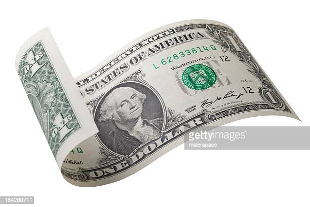 one dollar bill - dollar sign stock pictures, royalty-free photos & images