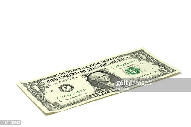 one dollar - american one dollar bill stock pictures, royalty-free photos & images