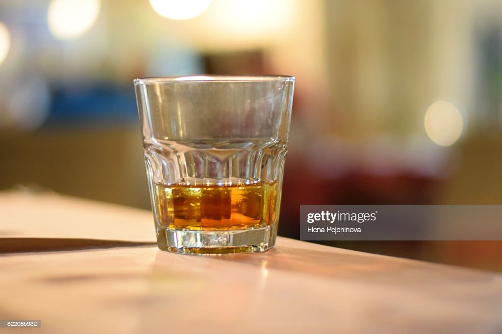 One drink : Stock Photo