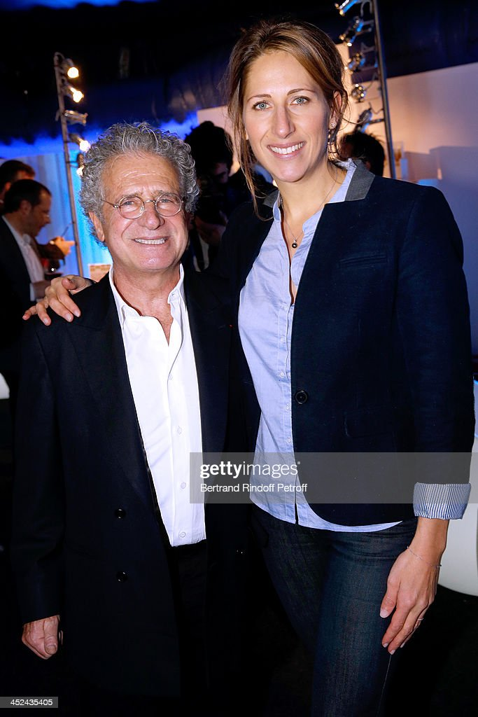 One Drop France Laurent Dassault andGodmother of One Drop France Maud Fontenoy attend the 'One Drop' Gala, held at Cirque du Soleil on November 28, 2013 in Paris, France.