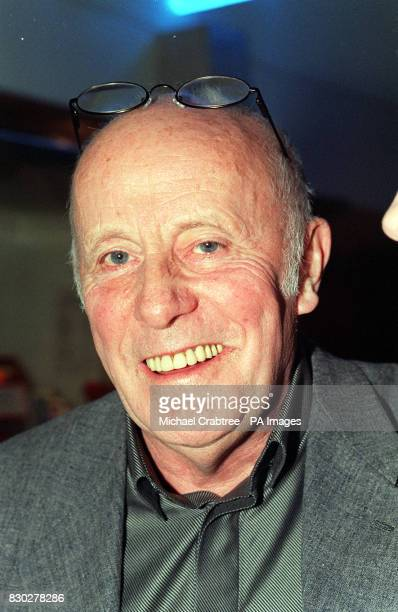 One Foot in the Grave actor Richard Wilson arriving at the Tricycle Theatre in London to watch Paul Corcoran's black comedythriller 'Four Nights In...