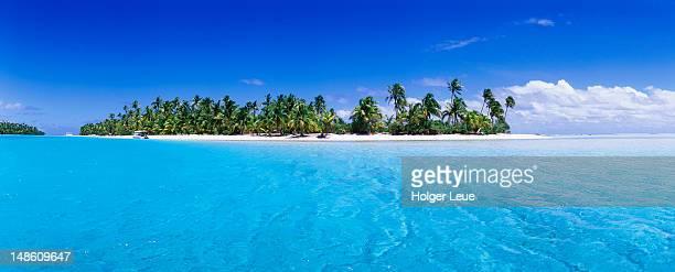 one foot island. - pazifik stock-fotos und bilder