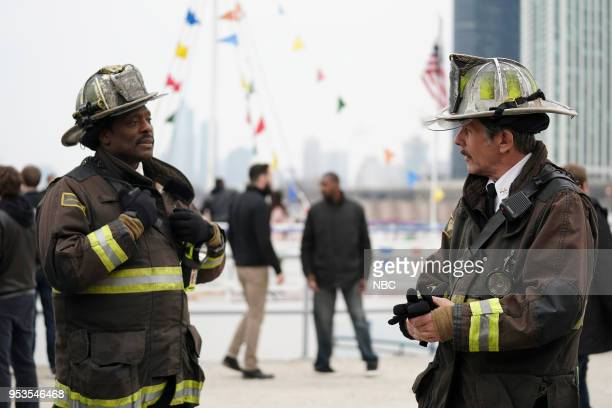 FIRE One For The Ages Episode 622 Pictured Eamonn Walker as Wallace Boden Gary Cole as Chief Carl Grissom