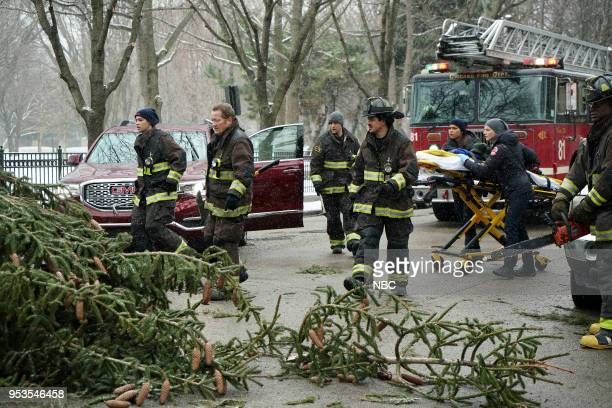 FIRE 'One For The Ages' Episode 622 Pictured Miranda Rae Mayo as Stella Kidd Christian Stolte as Mouch Jesse Spencer as Matthew Casey Yuri Sardarov...