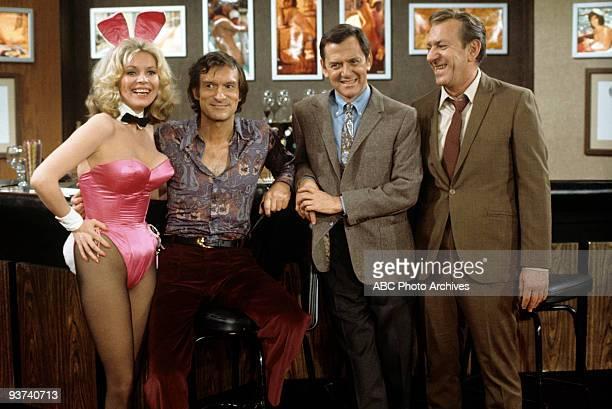 COUPLE One for the Bunny 3/22/74 Janis Hansen Hugh Hefner Tony Randall Jack Klugman
