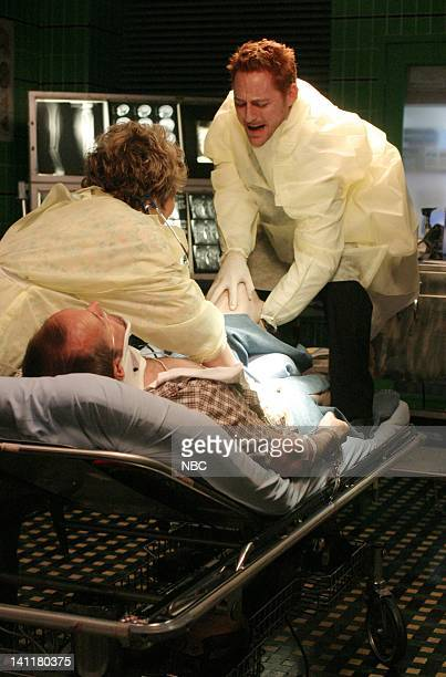 ER 'One for the Road' Episode 1 Air Date Pictured Renee Victor as Florina Lopez Brent Fletcher as Irritated Driver and Scott Grimes as Doctor Archie...