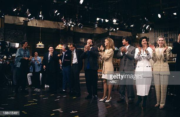 CHEERS One for the Road Episode 25 Air Date Pictured Ted Danson as Sam Malone Rhea Perlman as Carla Tortelli George Wendt as Norm Peterson John...