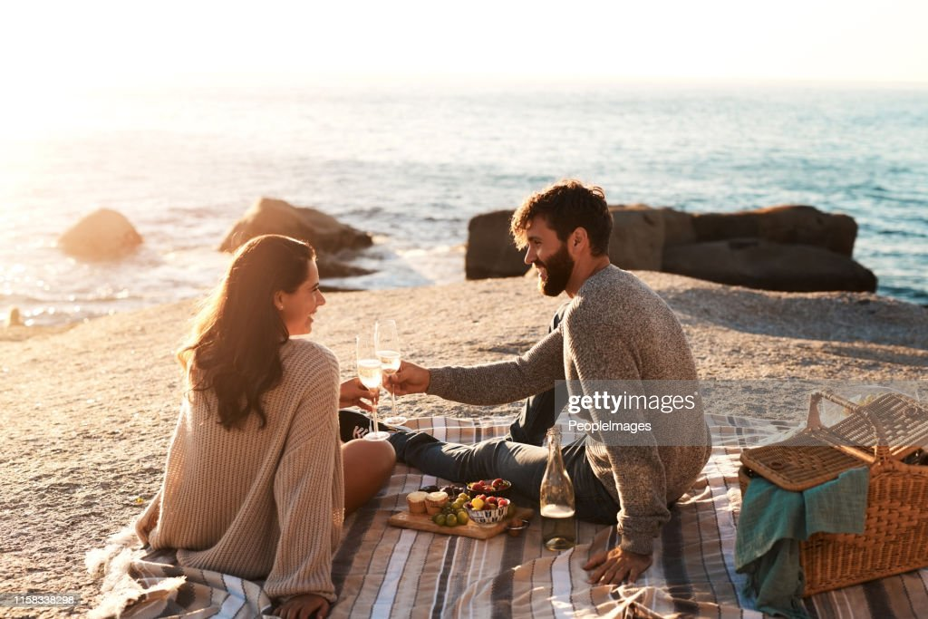 One great date deserves many more : Stock Photo