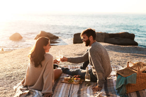 one great date deserves many more - couples romance stock pictures, royalty-free photos & images