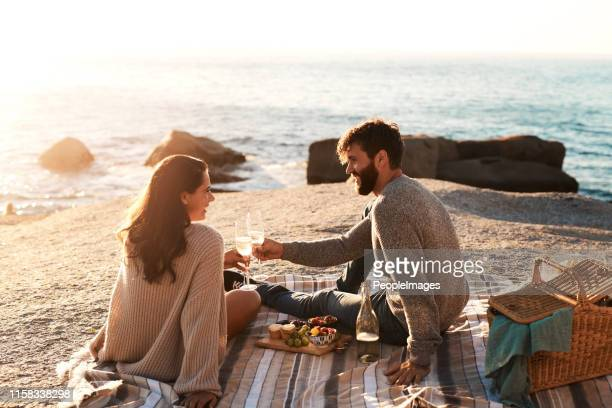 one great date deserves many more - romanticism stock pictures, royalty-free photos & images