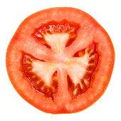 one half of tomato