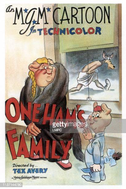 One Ham's Family poster 1943