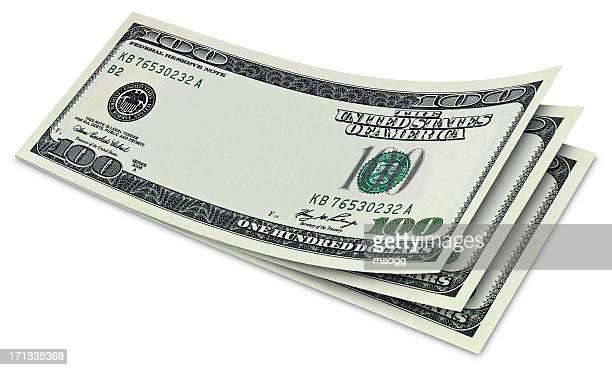 One hundred Dollar bills without some original art