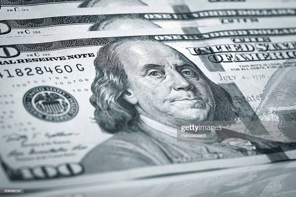 One Hundred Dollars : Stockfoto