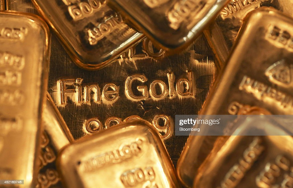 Gold Bars And Coins As World Gold Council Meet To Discuss Valuation Processes : News Photo