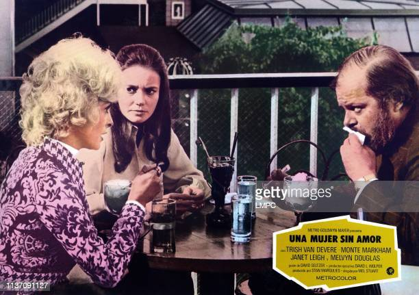 One Is A Lonely Number lobbycard Janet Leigh Trish Van Devere 1972