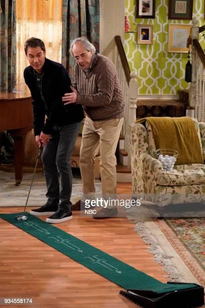 WILL GRACE 'One Job' Episode 111 Pictured Eric McCormack as Will Truman Robert Klien as Martin Adler