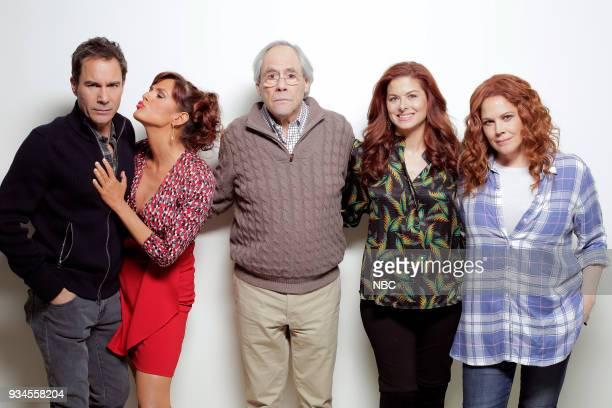 WILL GRACE 'One Job' Episode 111 Pictured Eric McCormack as Will Truman Sara Rue as Joyce Robert Klien as Martin Adler Debra Messing as Grace Adler...