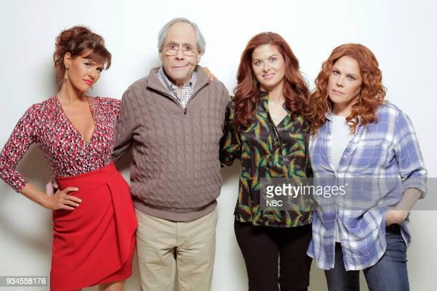 WILL GRACE 'One Job' Episode 111 Pictured Sara Rue as Joyce Robert Klien as Martin Adler Debra Messing as Grace Adler Mary McCormack as Janet
