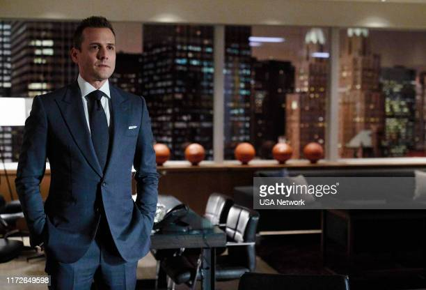 SUITS One Last Con Episode 910 Pictured Gabriel Macht as Harvey Specter