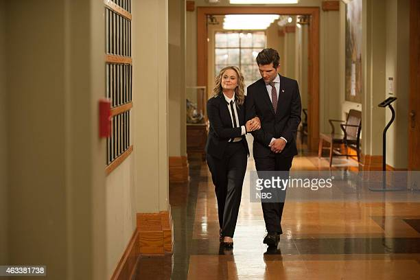 RECREATION One Last Ride Episode 712/713 Pictured Amy Poehler as Leslie Knope Adam Scott as Ben Wyatt