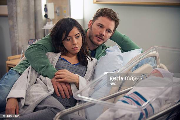 RECREATION One Last Ride Episode 712/713 Pictured Aubrey Plaza as April Ludgate Chris Pratt as Andy Dwyer
