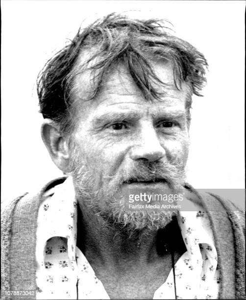 One legged solo New Zealand yatchsman John Jury arrives in Sydney-this morning after he was rescued by the freighter Jaguar off the North Queensland...