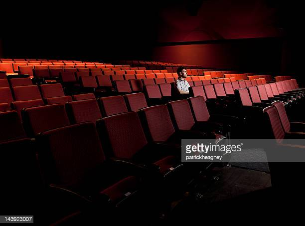 One Man in an Empty Theater