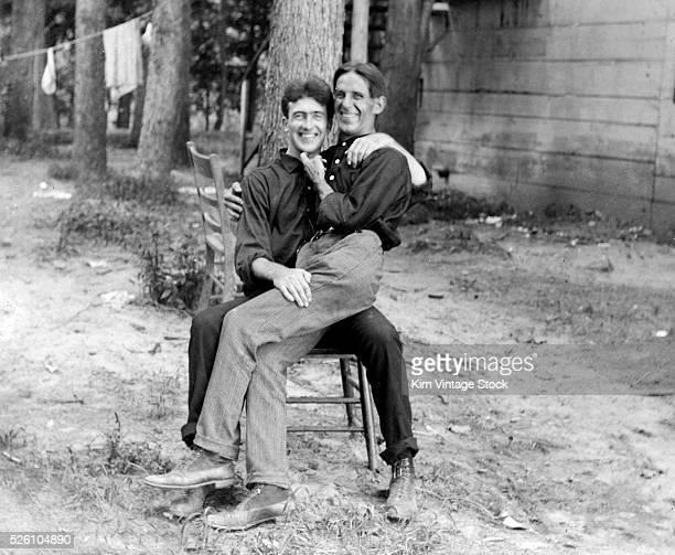 One man's lap dance, ca. 1905