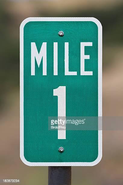 One Mile Marker