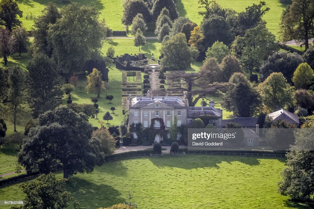 Aerial View of Highgrove, home of Charles, Prince of Wales : News Photo