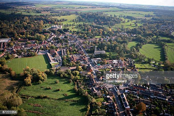 One mile west of Salisbury is the Wiltshire town of Wilton and he historic Wilton house on 20th October 2008