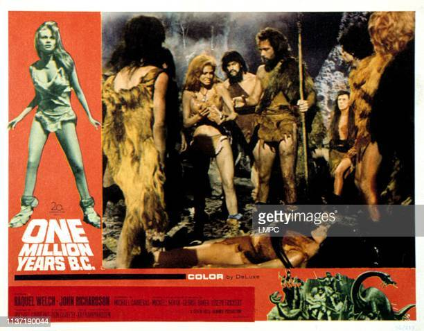 One Million Years poster BC 1966