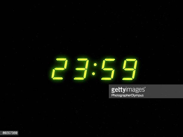 one minute to midnight - midnight stock pictures, royalty-free photos & images