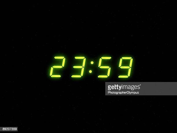 Eine minute bis Mitternacht