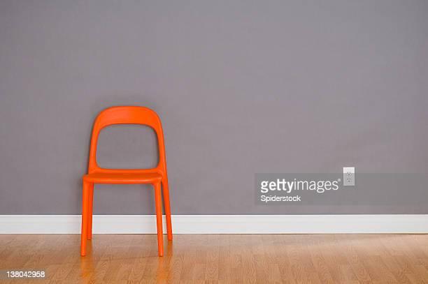 Eine moderne Kunststoff Stuhl
